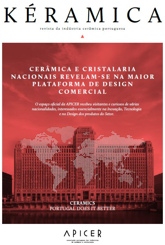 Cerâmica e Cristalaria nacionais revelam-se na maior plataforma de design comercial , Edição nº 346