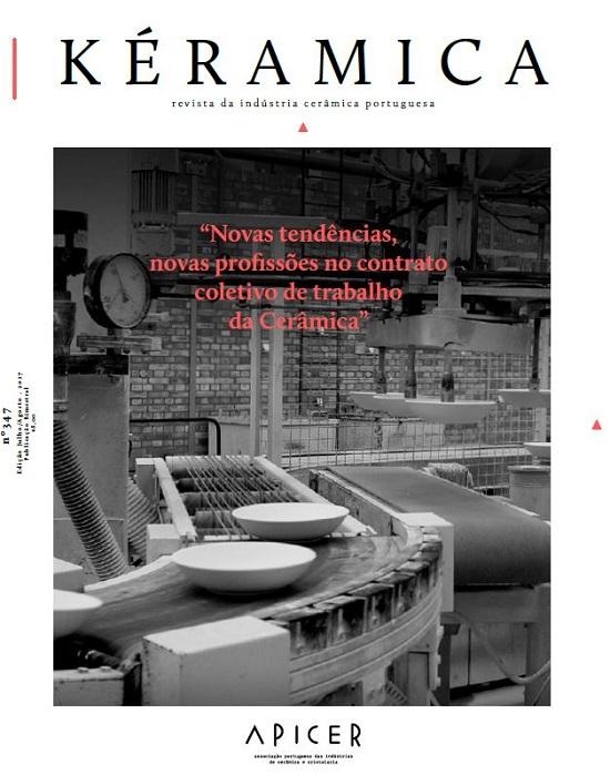 Novas tendências, novas profissões no contrato coletivo de trabalho da Cerâmica , Edição nº 347