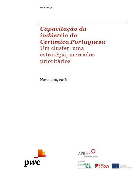 Capacitação da Indústria Cerâmica Portuguesa 2016
