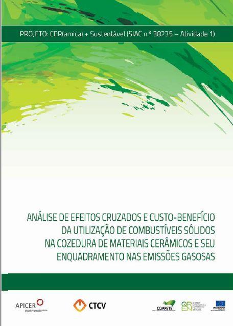 Análise de Efeitos Cruzados e Custo-Benefício da Utilização de Combustíveis Sólidos na Cozedura de Materiais Cerâmicos e seu Enquadramento nas Emissões Gasosas