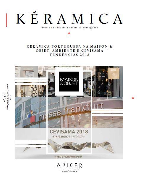 Cerâmica Portuguesa na Maison & Objet, Ambiente e Cevisama - Tendências 2018 , Edição nº 350