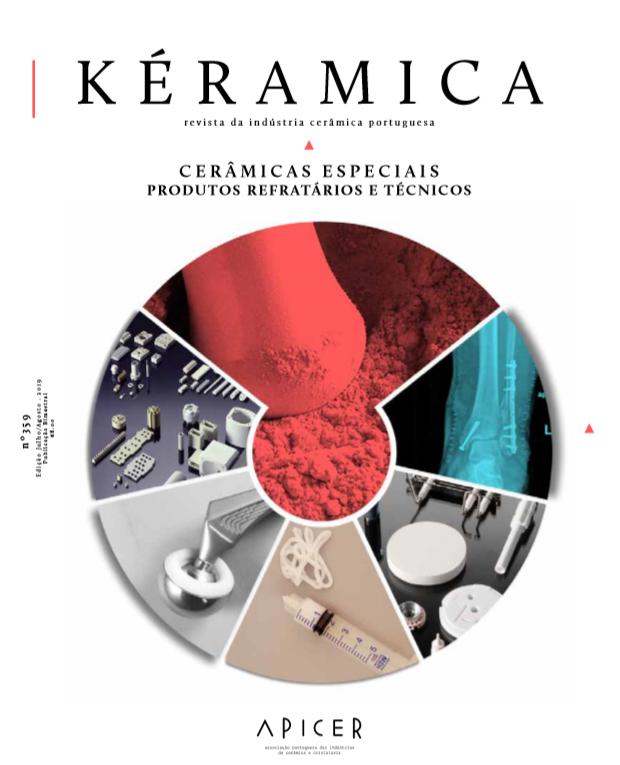 Cerâmicas Especiais – Produtos Refratários e Técnicos , Edição Nº 359 - Julho / Agosto 2019