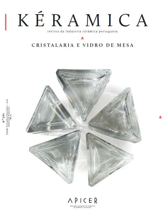 Cristalaria e Vidro de Mesa , Edição Nº 361 - Novembro / Dezembro 2019