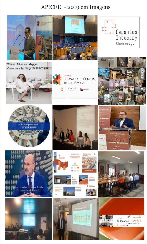 Newsletter Dezembro 2019 , APICER  - 2019 em imagens