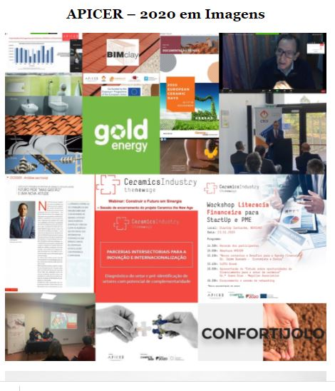 Newsletter Dezembro 2020 , APICER - 2020 em imagens