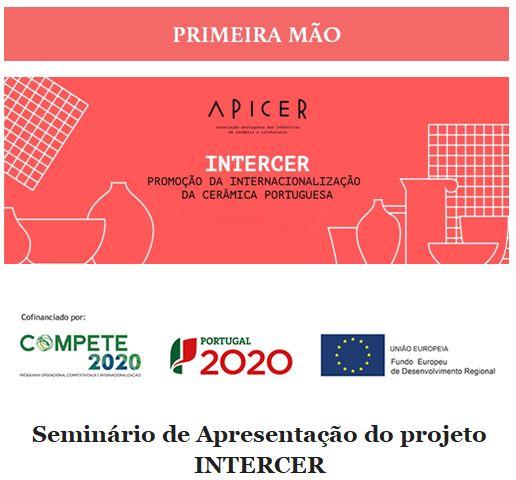 Newsletter Março  2021 , Seminário de Apresentação do projeto INTERCER